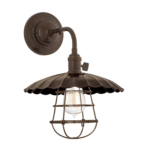 Hudson Valley Lighting Sconce Wall Light in Old Bronze Finish 8000-OB-MS3-WG