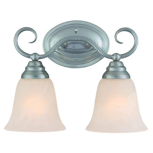 Craftmade Lighting Craftmade Cordova Satin Nickel Bathroom Light 25002-SN