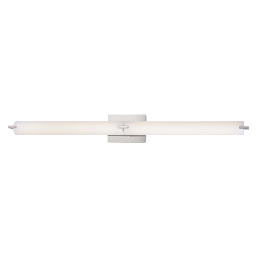 George Kovacs Lighting Tube Chrome LED Bathroom Light - Vertical or Horizontal Mounting P5046-077-L