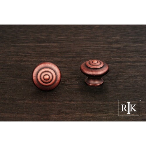 RK International Solid Knob with Circle @ Top CK9307DC