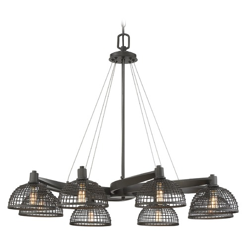 Savoy House Savoy House Lighting Wexford Remington Bronze Chandelier 1-6021-8-83