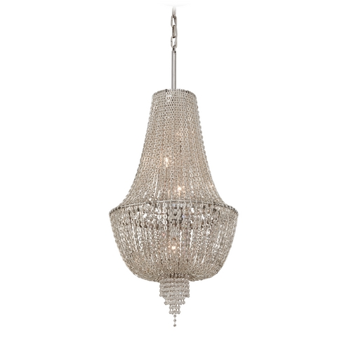 Corbett Lighting Corbett Lighting Vixen Polished Nickel Jewerly Chain Island Light 141-45