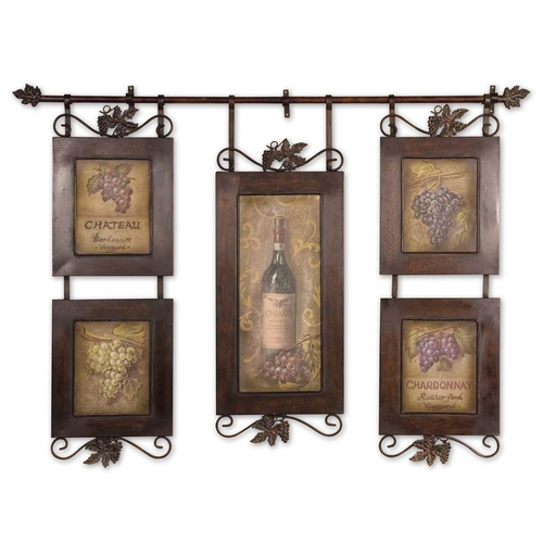 Uttermost Lighting Wall Art in Brown Finish 50791