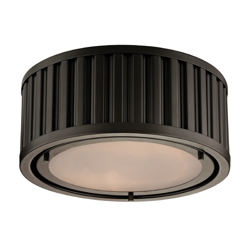 Elk Lighting Flushmount Light in Oil Rubbed Bronze Finish 46130/2