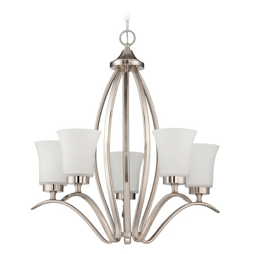 Jeremiah Lighting Jeremiah Lighting Northlake Satin Nickel Chandelier 38325-SN
