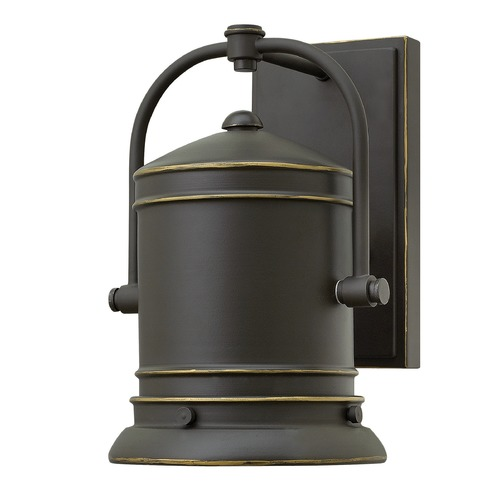 Hinkley Lighting Hinkley Lighting Pullman Oil Rubbed Bronze LED Outdoor Wall Light 2210OZ-LED