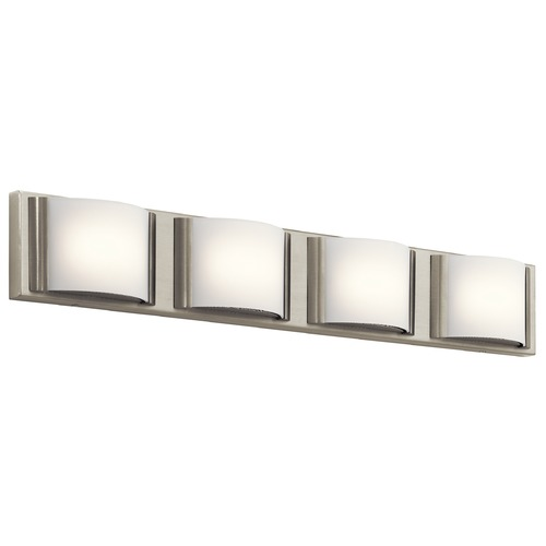 Elan Lighting Elan Lighting Bretto Brushed Nickel LED Bathroom Light 83820