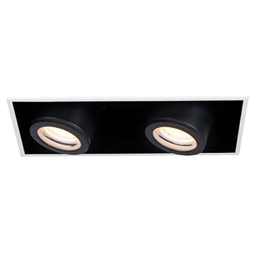 WAC Lighting Wac Lighting Silo Multiples White / Black LED Recessed Kit MT-4210L-935-WTBK