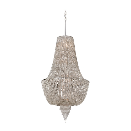 Corbett Lighting Corbett Lighting Vixen Polished Nickel Jewerly Chain Island Light 141-46