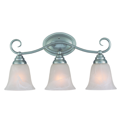 Jeremiah Lighting Jeremiah Cordova Satin Nickel Bathroom Light 25003-SN