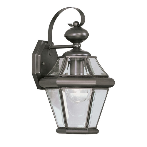 Livex Lighting Livex Lighting Georgetown Bronze Outdoor Wall Light 2161-07