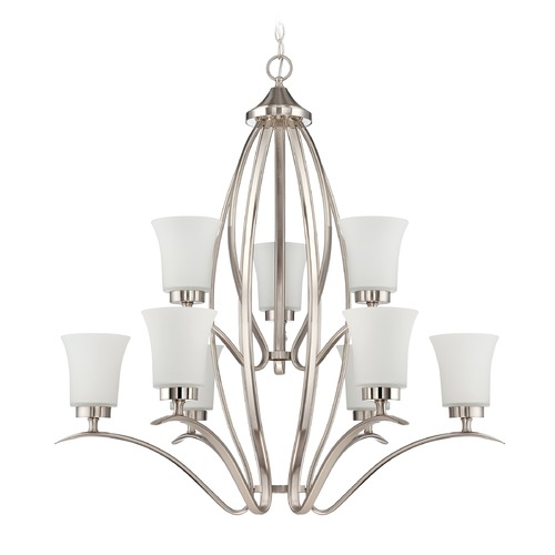 Jeremiah Lighting Jeremiah Lighting Northlake Satin Nickel Chandelier 38329-SN