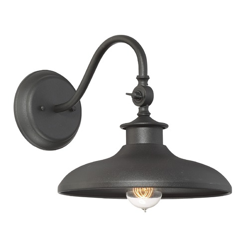 Savoy House Savoy House Lighting Raliegh Black Outdoor Wall Light 5-9584-BK