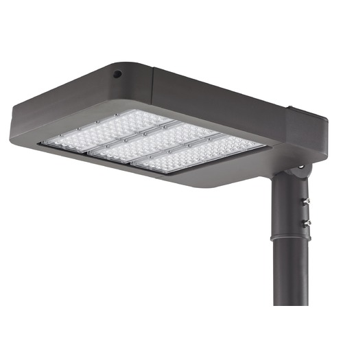 Recesso Lighting by Dolan Designs LED Shoebox Area Pole Light Bronze 150-Watt 120v-277v 16000 Lumens 4000K SB01-150W-40-BZ