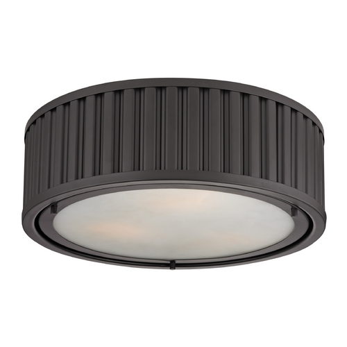 Elk Lighting Flushmount Light in Oil Rubbed Bronze Finish 46131/3