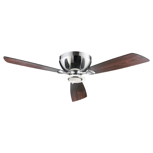 Quorum Lighting Quorum Lighting Nikko Chrome Ceiling Fan with Light 70523-14