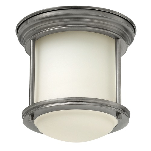 Hinkley Lighting Hinkley Lighting Hadley Antique Nickel Flushmount Light 3300AN-GU24
