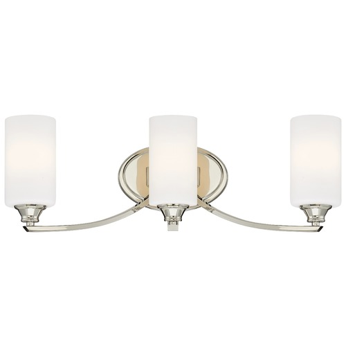 Minka Lavery Minka Tilbury Polished Nickel Bathroom Light 3983-613