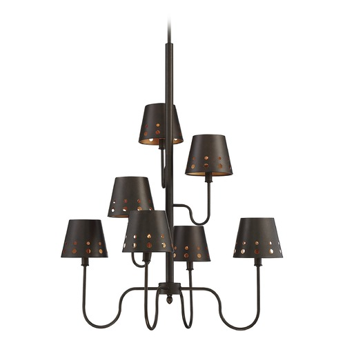 Savoy House Savoy House Lighting Kimball Cuprum Chandelier 1-6051-7-86