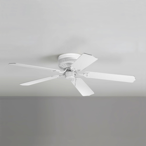 Progress Lighting Progress Ceiling Fan Without Light in White Finish P2525-30