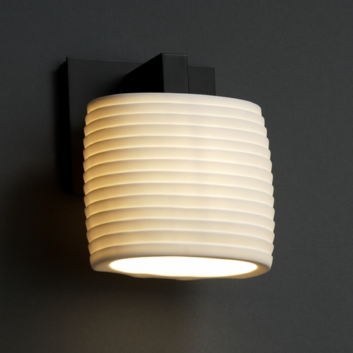 Justice Design Group Justice Design Group Limoges Collection Sconce POR-8931-30-SAWT-MBLK