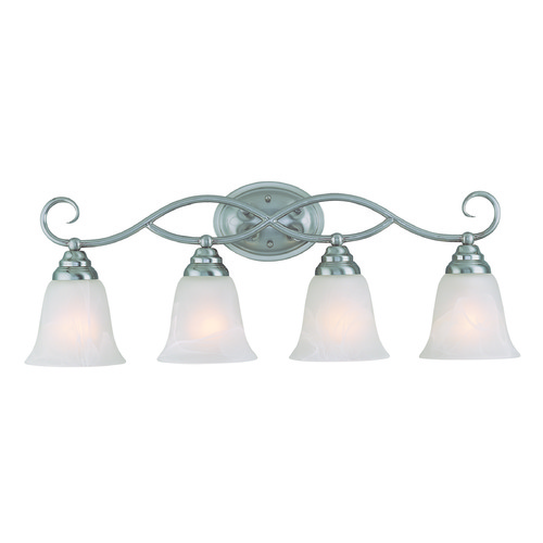Jeremiah Lighting Jeremiah Cordova Satin Nickel Bathroom Light 25004-SN