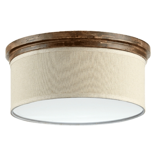 Quorum Lighting Quorum Lighting Telluride Early American Flushmount Light 3166-18-21