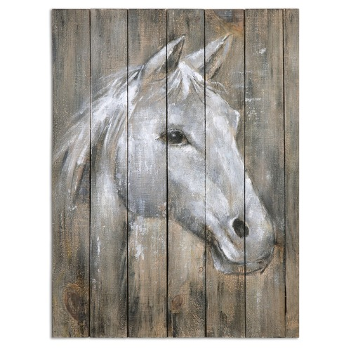 Uttermost Lighting Uttermost Dreamhorse Hand Painted Art 35312