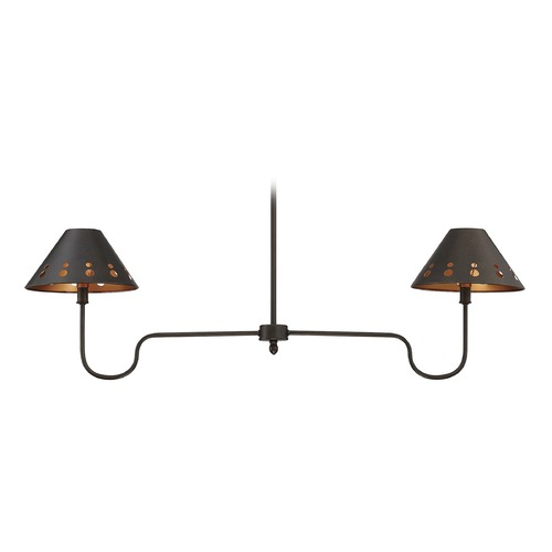Savoy House Savoy House Lighting Kimball Cuprum Island Light with Conical Shade 1-6052-2-86