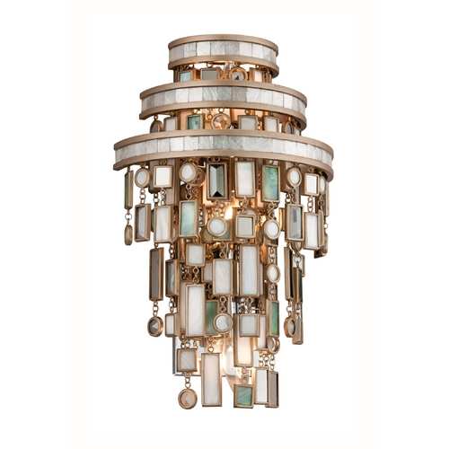 Corbett Lighting Corbett Lighting Dolcetti Silver Sconce 142-13