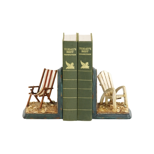 Sterling Lighting Beach Chair Decorative Bookends 91-4206