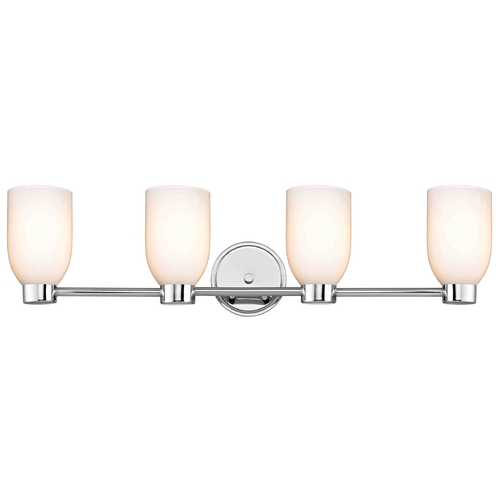 Design Classics Lighting Design Classics Aon Fuse Chrome Bathroom Light 1804-26 GL1024D