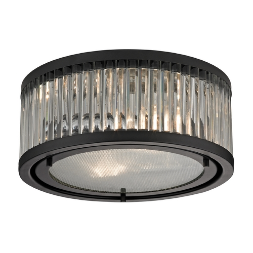 Elk Lighting Flushmount Light in Oil Rubbed Bronze Finish 46132/2