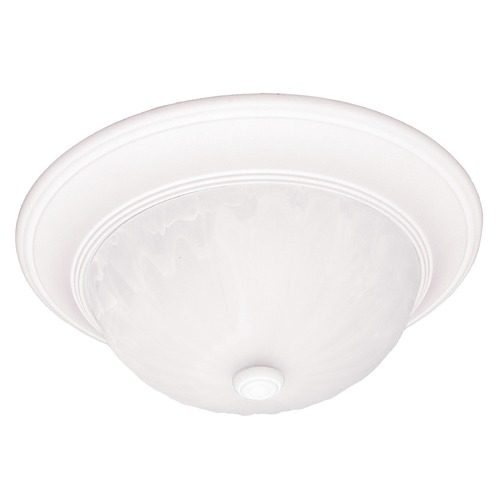 Savoy House Savoy House Matte White Flushmount Light 13264-80
