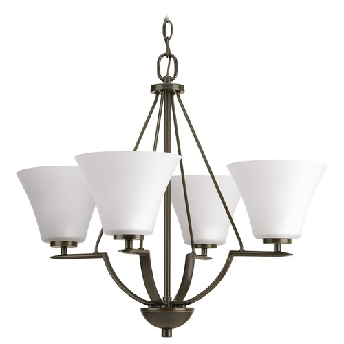 Progress Lighting Progress Lighting Bravo Antique Bronze Chandelier P4622-20W