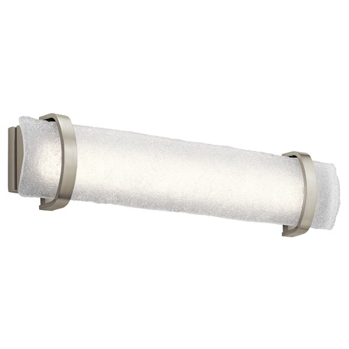 Elan Lighting Elan Lighting Adara Brushed Nickel LED Bathroom Light 83879