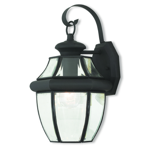 Livex Lighting Livex Lighting Monterey Black Outdoor Wall Light 20282-04