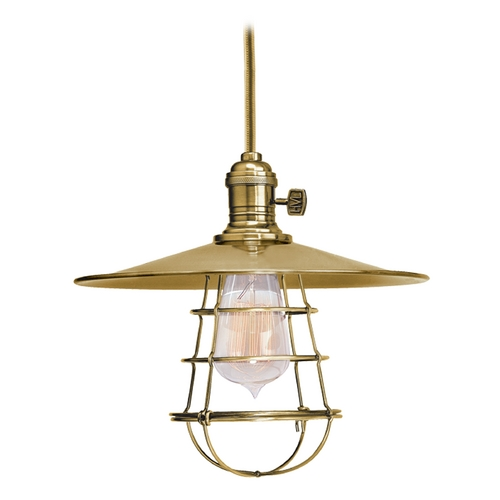 Hudson Valley Lighting Mini-Pendant Light 8001-AGB-MS1-WG