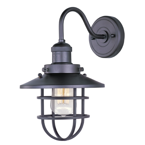 Maxim Lighting Maxim Lighting Mini Hi-Bay Bronze Sconce 25090BZ