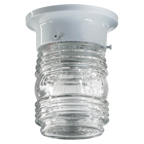 Quorum Lighting Quorum Lighting White Flushmount Light 3009-3-6