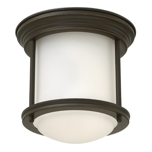Hinkley Lighting Hinkley Lighting Hadley Oil Rubbed Bronze Flushmount Light 3300OZ-GU24
