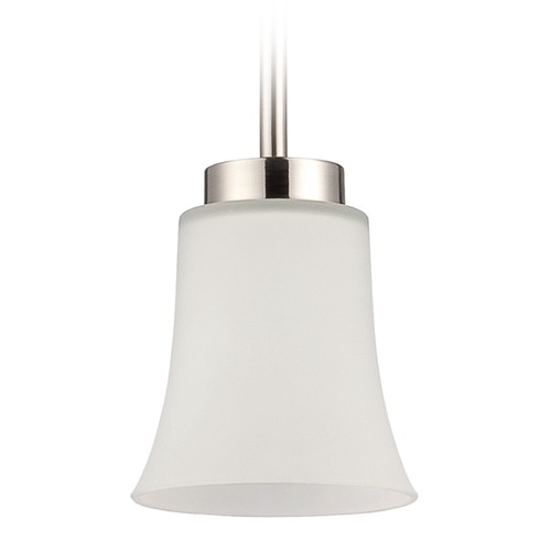 Jeremiah Lighting Jeremiah Lighting Northlake Satin Nickel Mini-Pendant Light 38391-SN