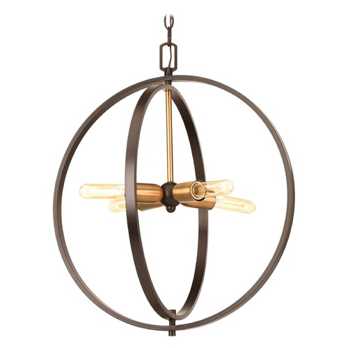 Progress Lighting Progress Lighting Swing Antique Bronze Pendant Light P5190-20