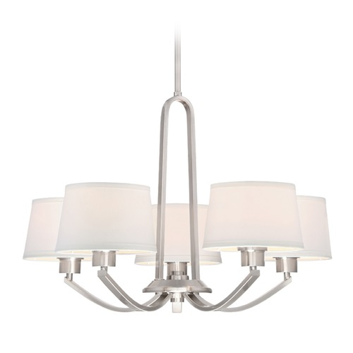 Designers Fountain Lighting Designers Fountain Studio Satin Platinum Chandelier 88585-SP