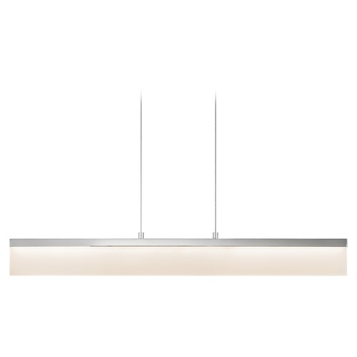 Elan Lighting Elan Lighting Colson Chrome LED Island Light with Drum Shade 83458