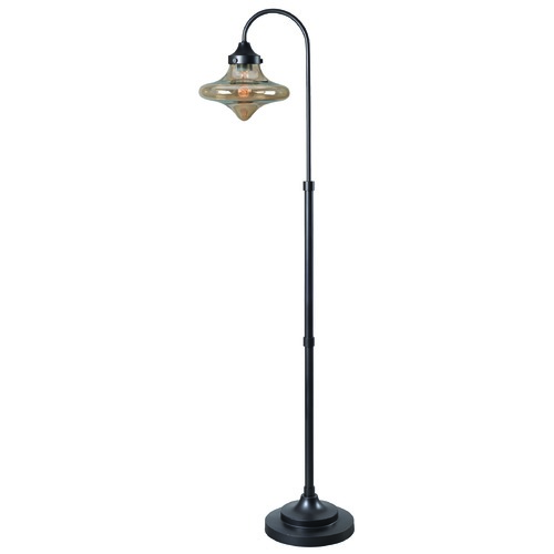 Kenroy Home Lighting Kenroy Home Rain Drop Warm Bronze Floor Lamp 32776WBZ