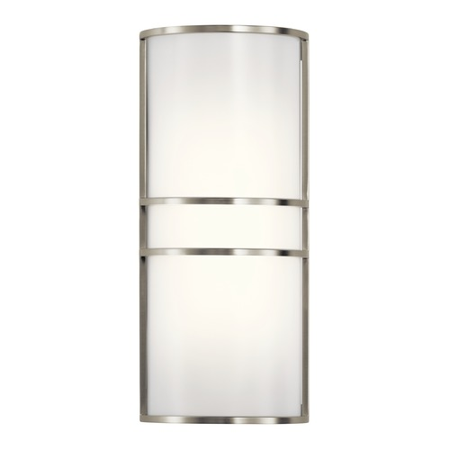 Kichler Lighting Transitional LED Sconce Brushed Nickel by Kichler Lighting 11315NILED