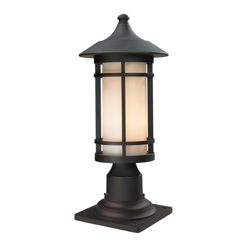Z-Lite Z-Lite Woodland Oil Rubbed Bronze Post Light 528PHM-533PM-ORB
