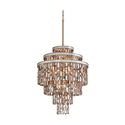 Corbett Lighting Corbett Lighting Dolcetti Silver Island Light 142-413