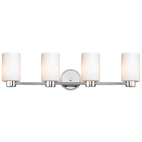 Design Classics Lighting Design Classics Aon Fuse Chrome Bathroom Light 1804-26 GL1028C